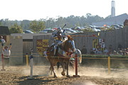 Fighting Photos - Maryland Renaissance Festival - Jousting and Sword Fighting - 1212187 by DC Photographer