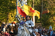 Knights Framed Prints - Maryland Renaissance Festival - Jousting and Sword Fighting - 121220 Framed Print by DC Photographer