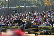 Dress Posters - Maryland Renaissance Festival - Jousting and Sword Fighting - 1212210 Poster by DC Photographer
