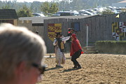 Maryland Renaissance Festival - Jousting And Sword Fighting - 1212213 Print by DC Photographer