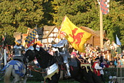 English Prints - Maryland Renaissance Festival - Jousting and Sword Fighting - 121223 Print by DC Photographer
