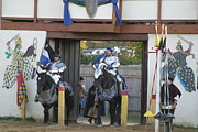 Maryland Photo Metal Prints - Maryland Renaissance Festival - Jousting and Sword Fighting - 121226 Metal Print by DC Photographer