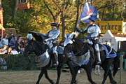 Artist Prints - Maryland Renaissance Festival - Jousting and Sword Fighting - 121227 Print by DC Photographer