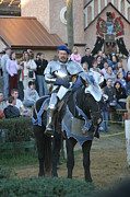 Medieval Art - Maryland Renaissance Festival - Jousting and Sword Fighting - 121229 by DC Photographer