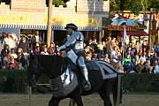 Knight Framed Prints - Maryland Renaissance Festival - Jousting and Sword Fighting - 121230 Framed Print by DC Photographer