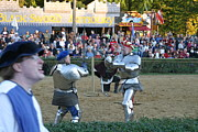 Sword Prints - Maryland Renaissance Festival - Jousting and Sword Fighting - 121240 Print by DC Photographer