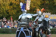 Sword Prints - Maryland Renaissance Festival - Jousting and Sword Fighting - 121248 Print by DC Photographer