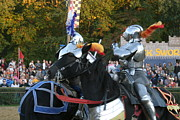 Actor Posters - Maryland Renaissance Festival - Jousting and Sword Fighting - 121249 Poster by DC Photographer