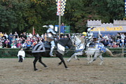 Armor Posters - Maryland Renaissance Festival - Jousting and Sword Fighting - 121252 Poster by DC Photographer
