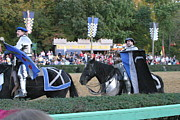 Knight Photo Prints - Maryland Renaissance Festival - Jousting and Sword Fighting - 121261 Print by DC Photographer