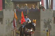 Medieval Posters - Maryland Renaissance Festival - Jousting and Sword Fighting - 121262 Poster by DC Photographer