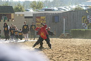 Fighting Art - Maryland Renaissance Festival - Jousting and Sword Fighting - 121276 by DC Photographer