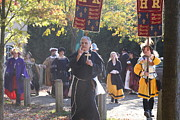 King Posters - Maryland Renaissance Festival - Kings Entrance - 12121 Poster by DC Photographer