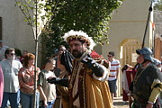 English Prints - Maryland Renaissance Festival - Kings Entrance - 121211 Print by DC Photographer