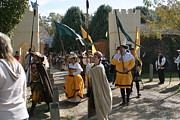Costume Prints - Maryland Renaissance Festival - Kings Entrance - 121212 Print by DC Photographer