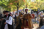 Maryland Prints - Maryland Renaissance Festival - Kings Entrance - 12124 Print by DC Photographer