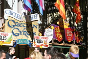 Booth Prints - Maryland Renaissance Festival - Merchants - 121228 Print by DC Photographer