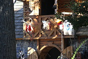 Maryland Renaissance Festival - Merchants - 121237 Print by DC Photographer