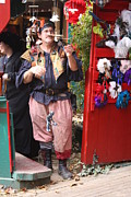 Shop Posters - Maryland Renaissance Festival - Merchants - 121250 Poster by DC Photographer