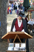 Costume Prints - Maryland Renaissance Festival - Merchants - 12126 Print by DC Photographer