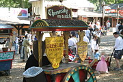 Middle Prints - Maryland Renaissance Festival - Merchants - 121262 Print by DC Photographer