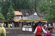 Stores Prints - Maryland Renaissance Festival - Merchants - 121266 Print by DC Photographer