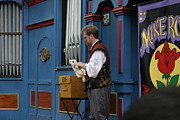 Maryland Renaissance Festival - Mike Rose - 12127 Print by DC Photographer