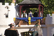 Open Metal Prints - Maryland Renaissance Festival - Open Ceremony - 12127 Metal Print by DC Photographer