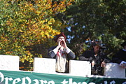 Maryland Renaissance Festival - Open Ceremony - 12128 Print by DC Photographer