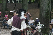 Middle Framed Prints - Maryland Renaissance Festival - People - 121296 Framed Print by DC Photographer