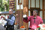 English Photo Posters - Maryland Renaissance Festival - Puke N Snot - 121222 Poster by DC Photographer