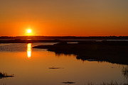 Golden Pond Prints - Maryland Sunset Print by Paul Ward