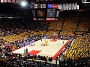 Basketball Posters Prints - Maryland Terrapins Comcast Center Print by Replay Photos