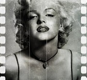 Film Mixed Media - Marylin  by David Kadwell