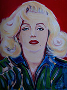 Marylin Paintings - Marylin Monroe by Klaus Grumbach