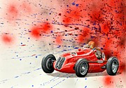 Sportscar Originals - Maserati 6 Cm by MICHAUX Michel