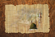 Blessings Paintings - Masjid e Nabwi 01 by Catf