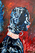 Berlin Painting Originals - Mask - 2521 by Lars  Deike