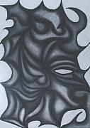 Dark Pastels Prints - Mask Print by Jamie Lynn