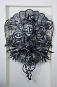 Featured Sculptures - Mask of Winter Queen by Arman Hostikyan