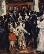 At The Ball Posters - Masked Ball at the Opera Poster by Edouard Manet