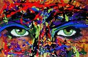 Masque Print by Michael Cross
