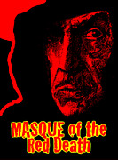 Angels Drawings - Masque of the Red Death by Michael Mynatt