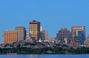 Charles River Photo Prints - Massachusetts State House and Beacon Hill Print by Juergen Roth