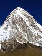 Mt Everest Base Camp Prints - Massive Pumori Print by Tim Hester