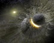 Science Source  - Massive Smash-up At Vega