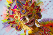 Filipino Prints - Masskara  Print by Derek Selander