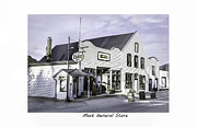 Historic Country Store Posters - Mast General Store Poster by Terry Spencer