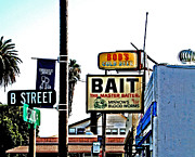 Bait Shops Prints - Master Baiter Print by Joseph Coulombe