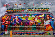 Amusements Framed Prints - Master Blaster all the fun of the fair Framed Print by Terri  Waters